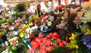 Flowers in Cours Saleya