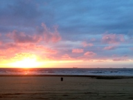 Sunset in Scheveningen