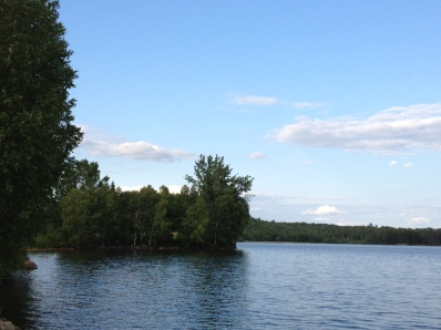 Summer in cottage country