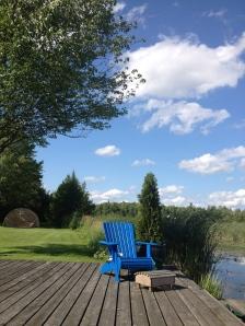 Muskoka (or Adirondack) chair